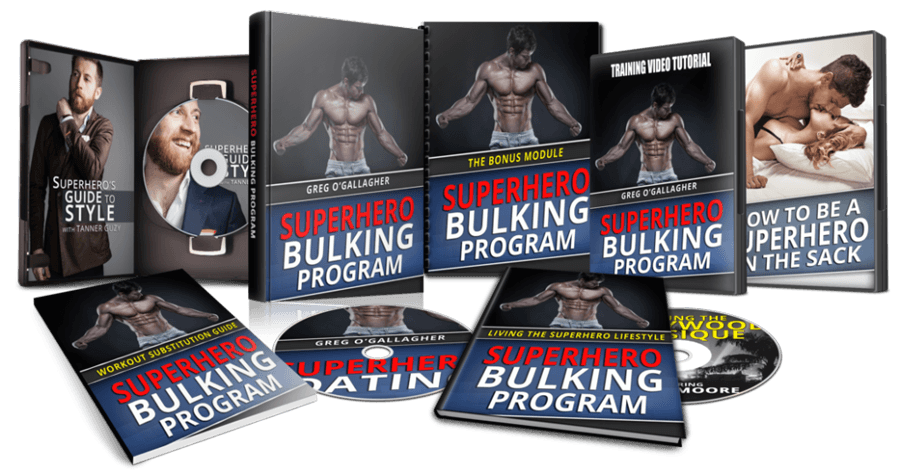 superhero bulking program pdf