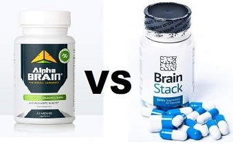 alpha brain vs brain stack